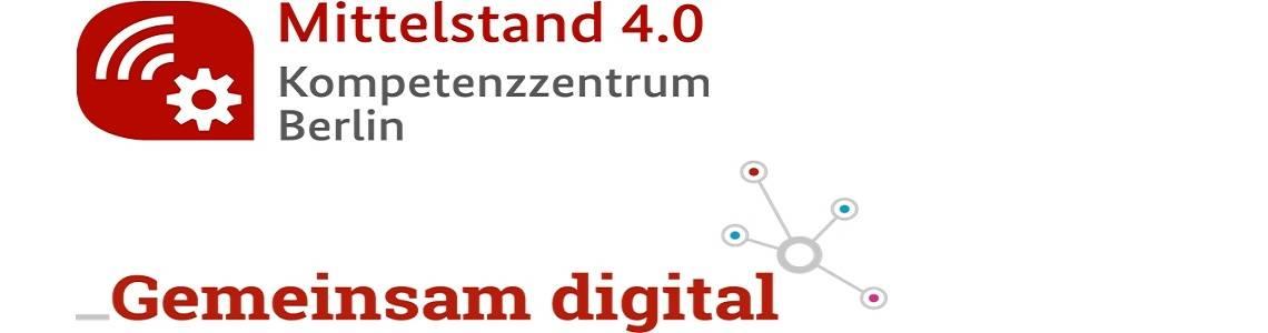 Logo Gemeinsam digital und Kompetenzzentrum Berlin